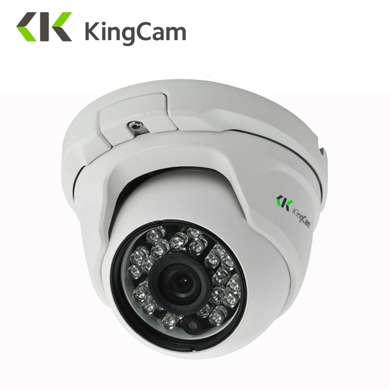 KingCam Metal Anti-vandal POE IP Camera <font><b>2.8mm</b></font> Lens Wide Angle 1080P 960P 720P Security ONVIF CCTV Surveillance 6mm Dome IP Cam