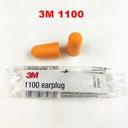 3M 1100 Disposable Earplug Foam Noise Reducer Free Shipping