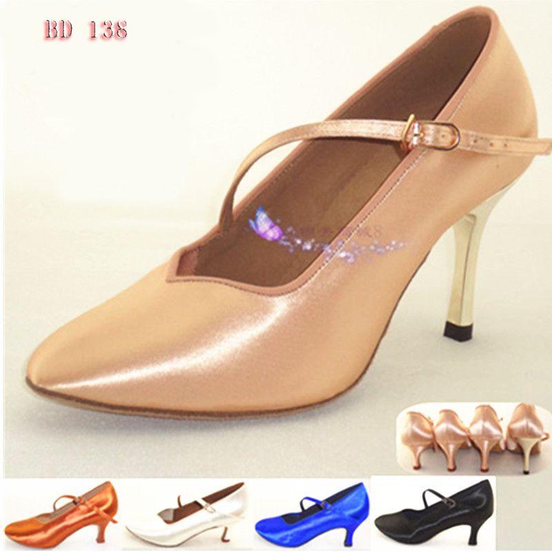 Sneakers Latin Dance shoes Soft Bottom Sports Women Shoe BD 138 Modern Jazz Ballroom import satin Feel fine 2017 New Hot Salse