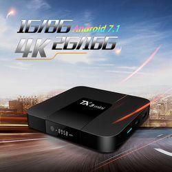 Tanix TX3 Mini Android 7,1 TV BOX Amlogic S905W Quad Core Smart TV Box Set H.265 4 K HDMI 2,4G WiFi soporte Kodi TX3mini pk x96