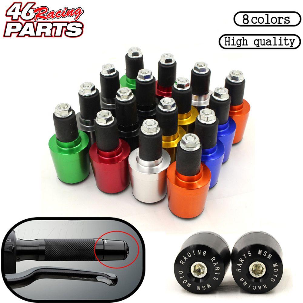 CNC 22MM Handlebar Grips Handle Bar Cap End Plugs For HONDA Cb500x XR250 Cbr250r Xr 250 Cbr650f Vfr800 NC700 NC750 NC700X NC750X
