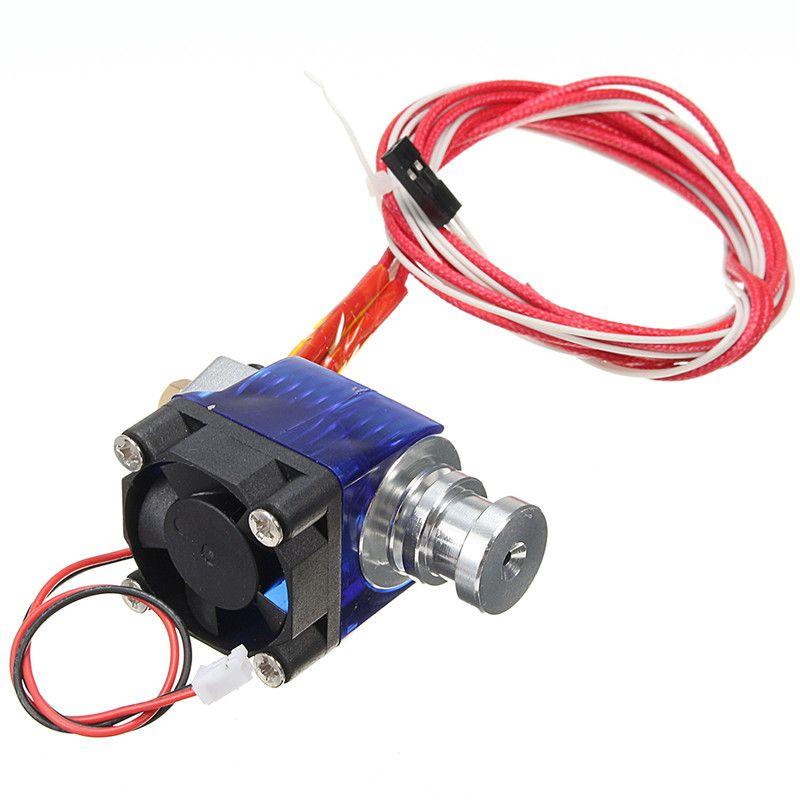 V6 All Metal Extrudeuse 1.75/0.4mm Imprimante 3D Tête D'extrusion Partie Avec Ventilateur En Métal 12 V NOUVEAU