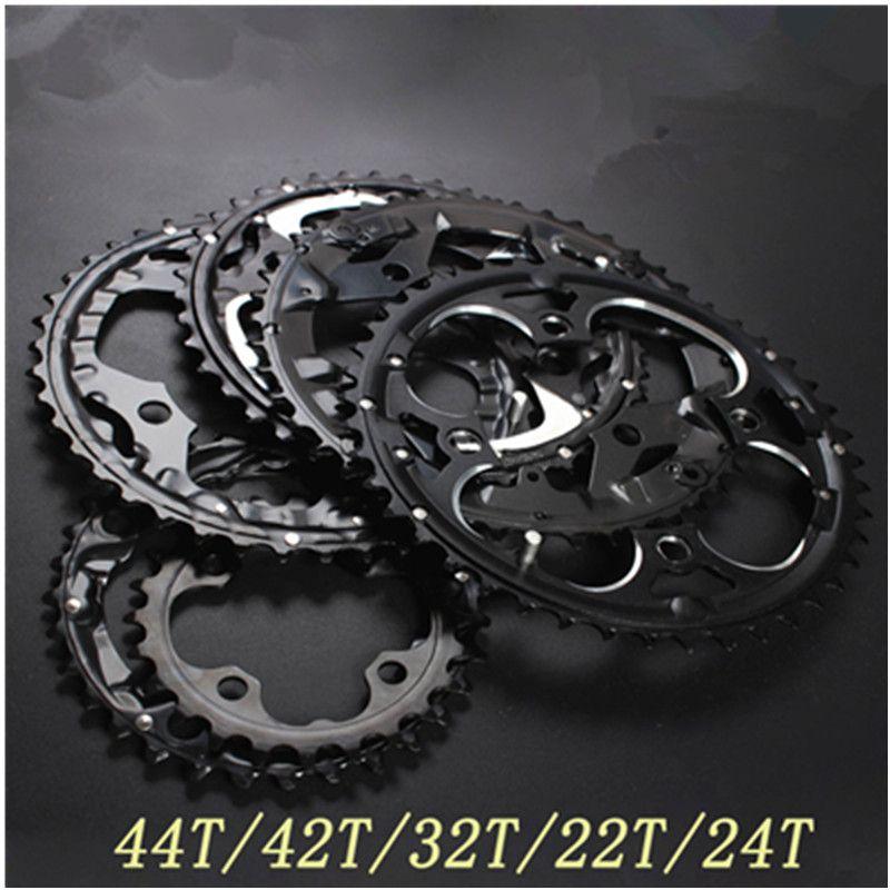 104BCD 22/24/32/42/44T roue de vélo de montagne vtt pédalier en aluminium changement de vitesse plateau BCD 104