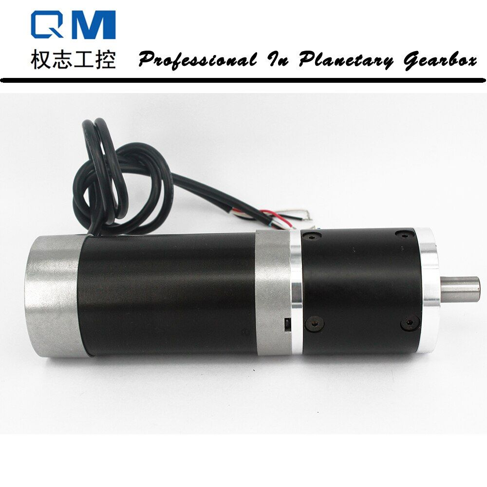 Nema 23 180W gear dc brushless motor bldc motor planetary reduction gearbox ratio 30:1