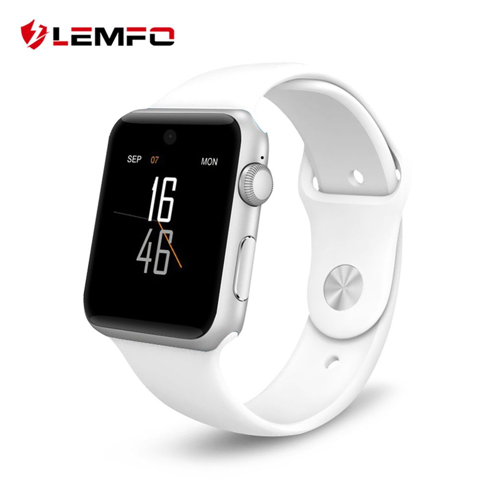 LEMFO Colorful Screen Smart Watch For Apple Watch Compatible IOS Android Watches Sim Card Heart Rate Monitor Sport Smart Band
