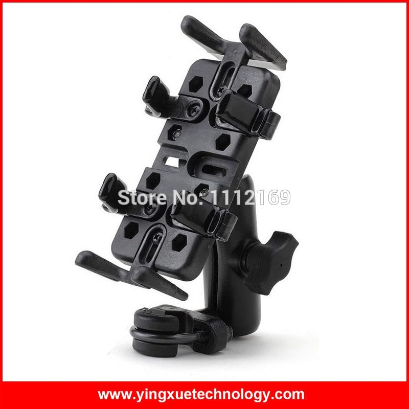 Motorcycle Bicycle Handlebar Grip Mount Holder Stand for Cell Phones,GPS ,Radio and Walkie Talkie