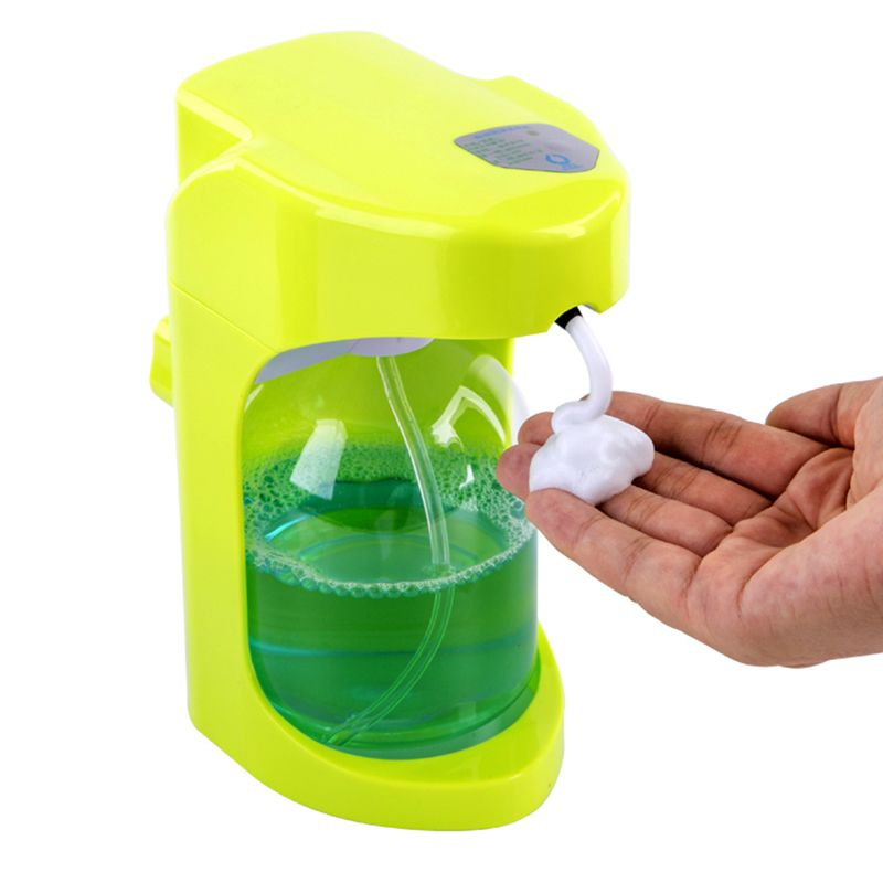 500ml Automatic Soap Dispenser Touchless Sanitizer Dispenser Built-in Infrared Smart Sensor for Kitchen Bathroom soap dispenser