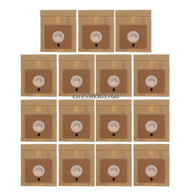 15Pcs Vacuum Cleaner Dust Paper Bags 100*110mm Diameter 50mm Accessories Parts #Y05# #C05#