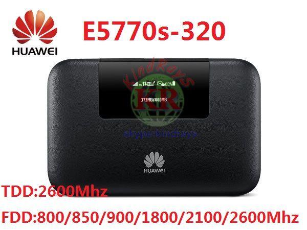 Unlocked E5770 E5770s-320 4G Mobile WiFi Pro Router 5200mAh power bank PK E8377 E5377 AC790s