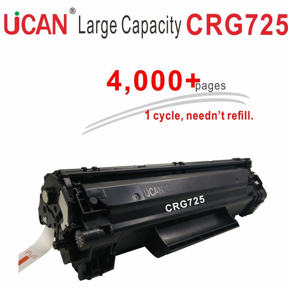 4000 pages Grande Capacité Rechargeable cartouche d'encre CRG 725 CRG725 pour Canon LBP 6000 6018 6020 6030 6040 MF3010 imprimante