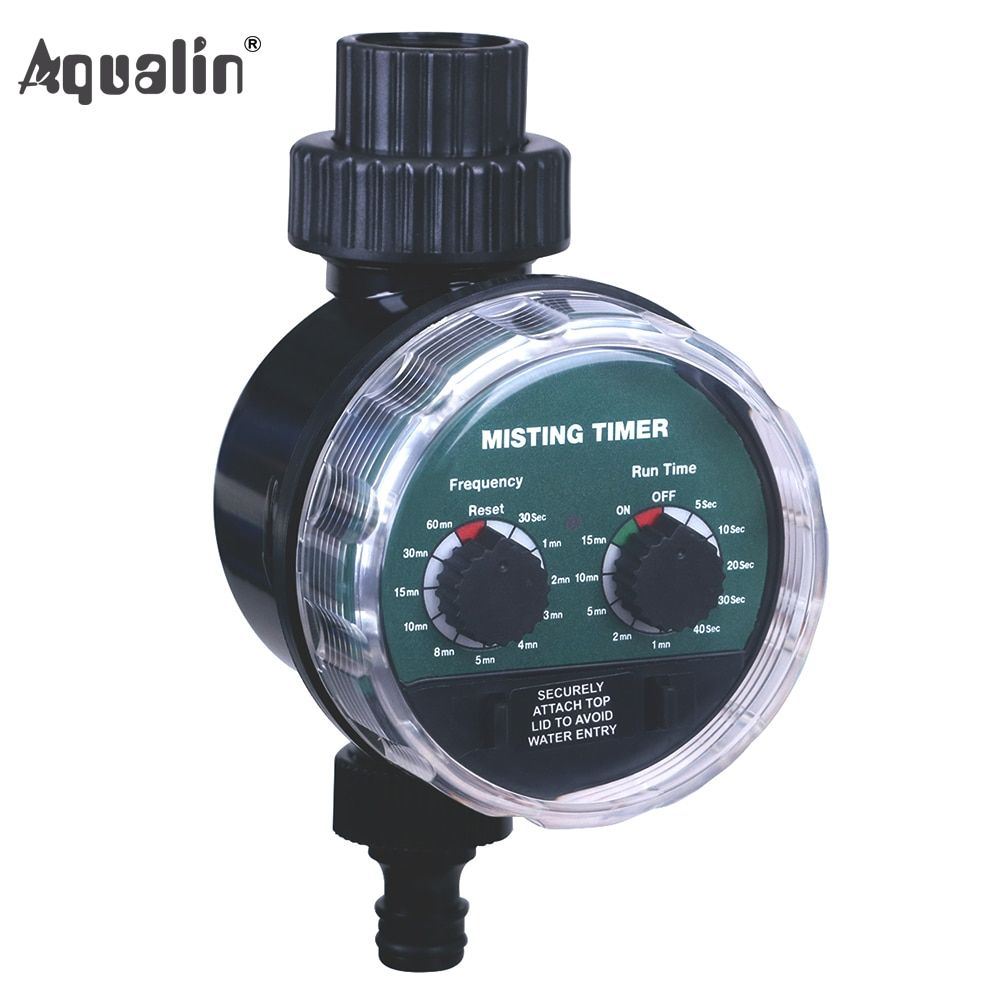 2018 New Arrival Misting Ball Valve <font><b>Seconds</b></font> Watering Timer Automatic Electronic Water Timer Home Garden Controller #21025M2