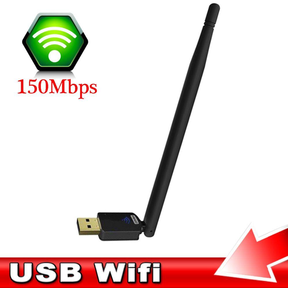 NOYOKERE Leistungsstarke Mini Drahtlose WiFi Dongle Netzwerk Adapter Mit 6dBi Antenne 150 Mt Usb-netzwerkkarte Für PC Laptop