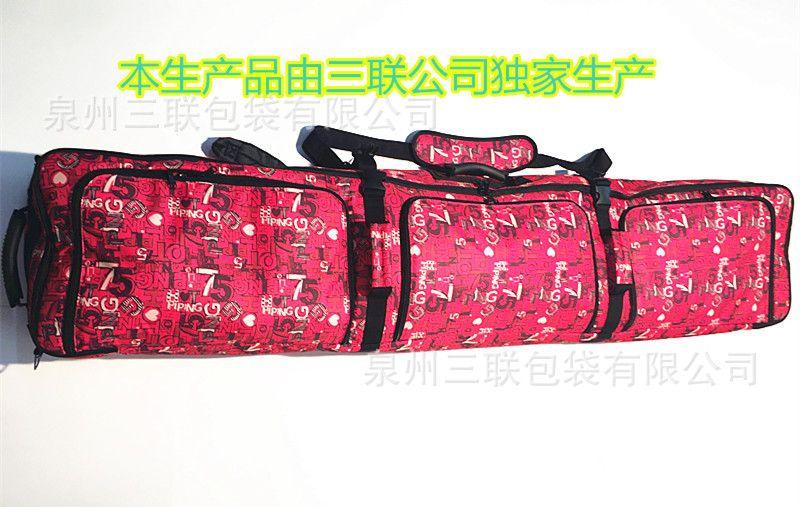165 cm große kapazität ohne räder Snowboard Tasche Doppel Bord Ski Tasche Rucksack Ski Tasche Spezielle rote A4801
