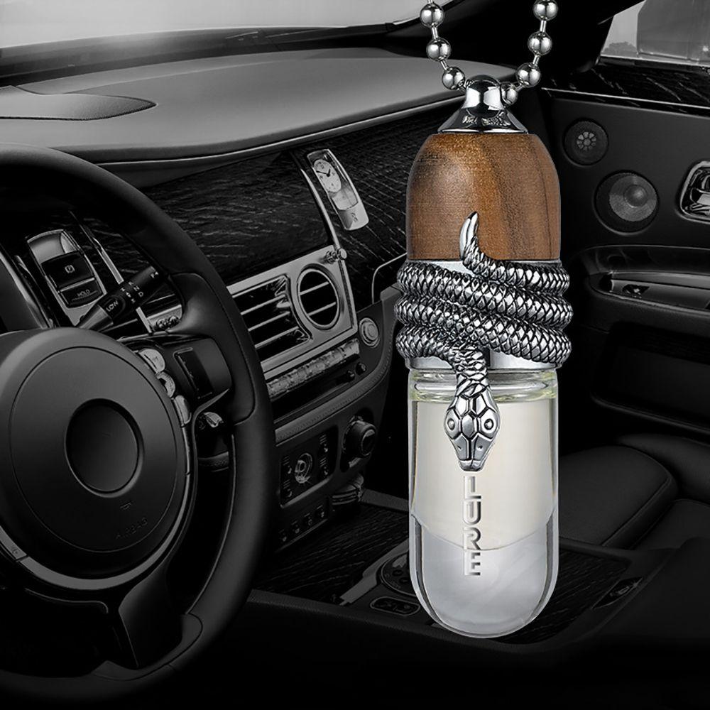 Car Pendant Snake Perfume Diffuser Air Freshener Automotive Interior Decoration Fragrance Hanging Suspension Ornament Trim Gifts