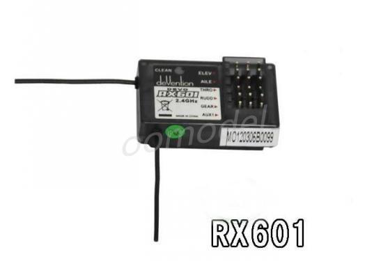 Walkera RX601 6 CH Récepteur Devention Récepteur pour Walkera devo 6/devo 7/devo8s/devo10/devo12 Piste Libre D'expédition