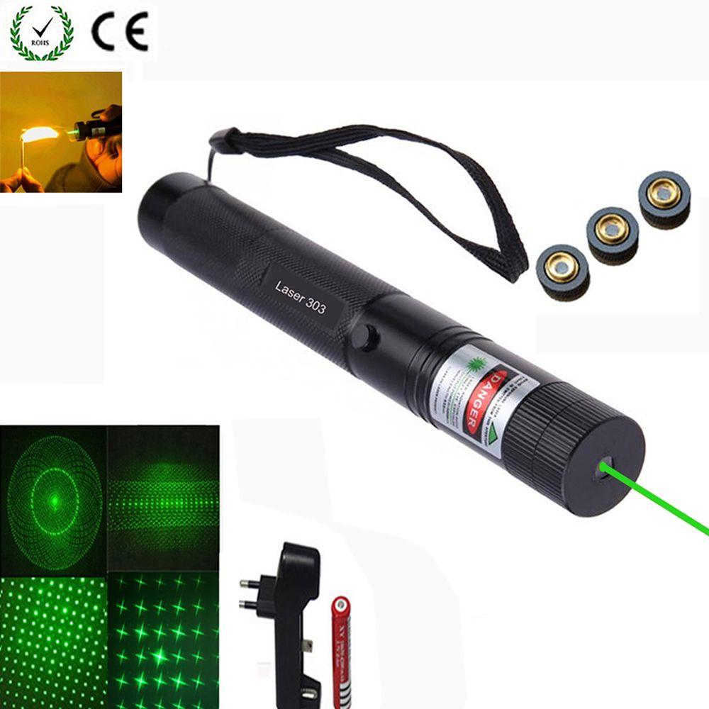 Green Dot tactical green laser sight Bore Sighter laser pointer 4pcs Adjustable Adapters Caliber Rifles bore sight collimator