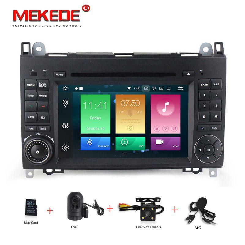 Android 8.0 7 zoll Auto DVD Player Stereo System Für Mercedes/Benz/Sprinter/W209/W169/B200 /B-klasse 4g RAM 32g ROM WIFI Radio GPS