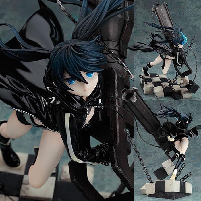 20cm Black Rock Shooter Japanese anime figure Dark Miku Strike with Cannon scenario