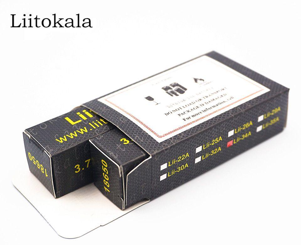 2 PCS 100% Original LiitoKala Lii-35A 3,7 V 3500 mAh 10A Entladen Akkus 18650 Batterie/UAV