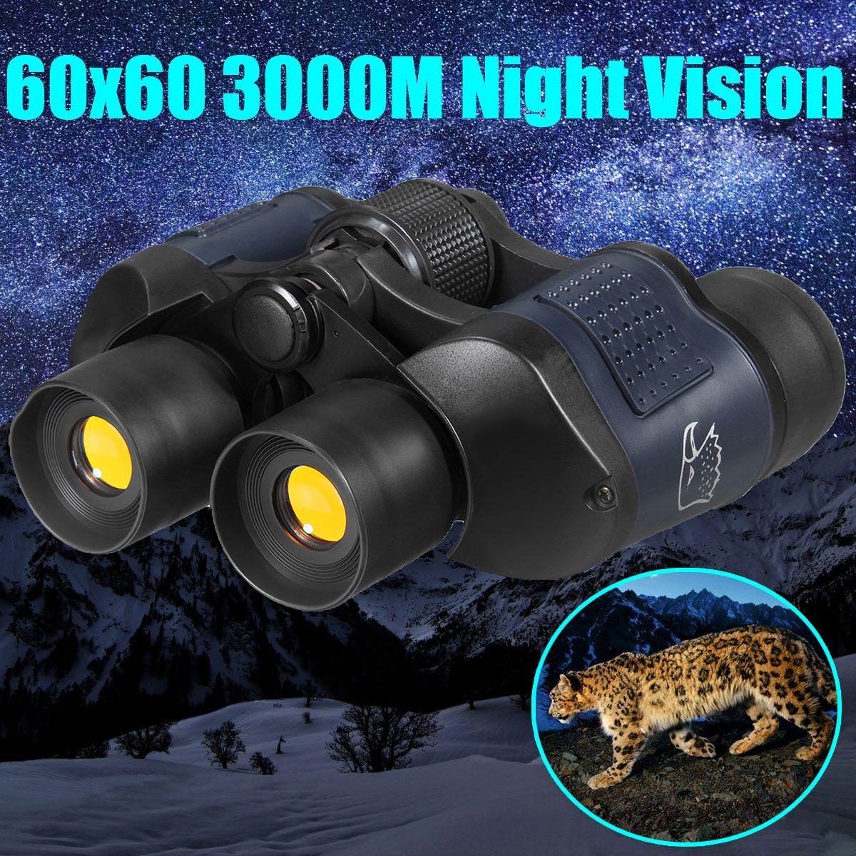 60X60 Optical Telescope Night Vision Binoculars High Clarity 3000M binocular Spotting scope outdoor Hunting sports eyepiece