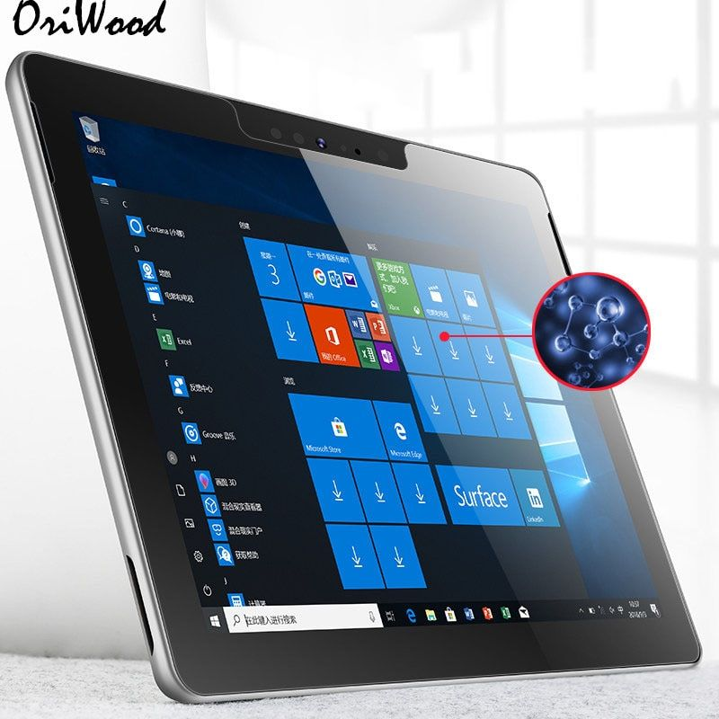Tempered Glass for Microsoft Surface Pro Pro6 Pro5 6 5 4 3 RT3 2 1 RT2 12.3 Tablet Screen Protector For Microsoft Surface 3 10.8