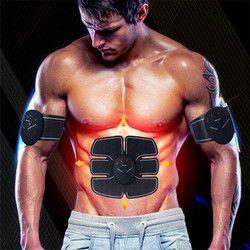 EMS упражнения Training ABS Fit тренировки мышц брюшного пресса для похудения электрический живот руку массажер 2017 новой