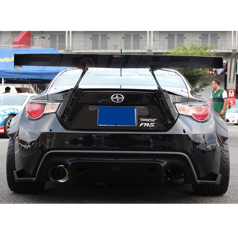 GT86 FR-S BRZ Auto Styling FRP Fiberglas Grundierung Hinteren Gepäck fach Spoiler Auto Flügel für Toyota 86 Scion FR-S Subaru BRZ