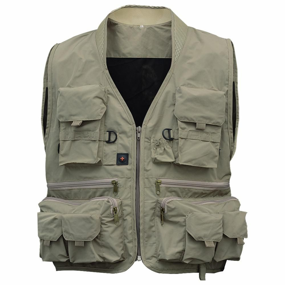 LumiParty Outdoor fly Fishing Vest Life Jackets Breathable Men Jacket Swimming Life Vest Safety Life-Saving fishing Vest pesca