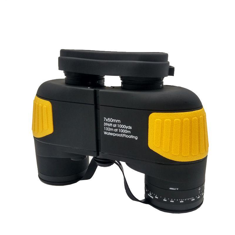 HUANDEE Hight qualität 7X50 Entfernungsmesser militär fernglas Professionelle marine schwimm fernglas teleskop DYB012
