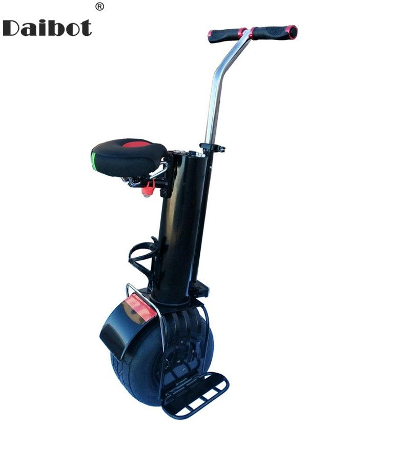 Daibot Monowheel Electric Unicycle One Wheel Self Balancing Scooters 60V 500W Electric Scooter With Seat For Adults