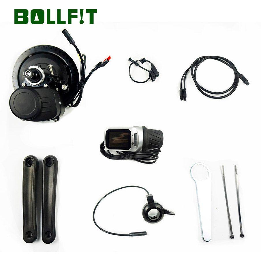 Neue Version Tongsheng TSDZ2 DIY Umwandlung ebike Mitte Drive Kit Motor, Drehmoment Sensor XH-18 Hohe Geschwindigkeit Elektrische Fahrrad Motor