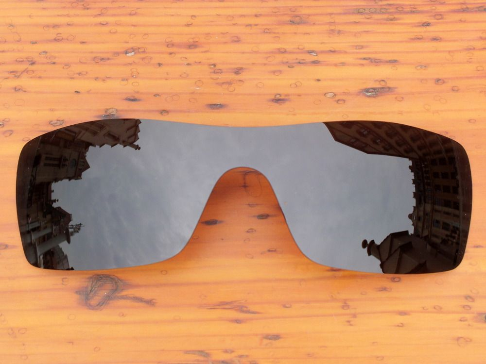 Black Polarized Replacement Lenses For Batwolf Sunglasses Frame 100% UVA & UVB Protection