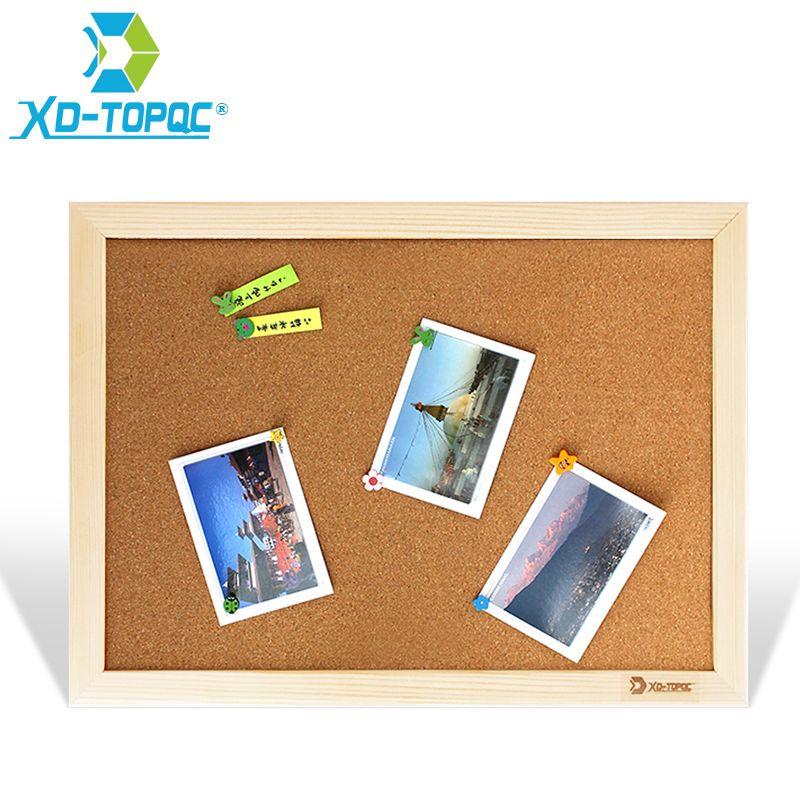 XINDI tableau de liège 25*35 cm tableau d'affichage tableaux d'affichage en bois cadre Pin mémo pour Notes fournitures d'usine maison bureau décoratif