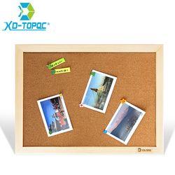 Xindi tablero de corcho 25*35 cm Tablones de anuncios mensajes madera Marcos Pasadores Bloc de notas suministros de fábrica oficina en casa decorativo