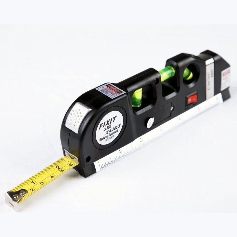 Nouveauté multifonction Laser niveaux aligneur polyvalent Laser niveau Horizon mesure verticale ruban aligneur Laser niveaux HR