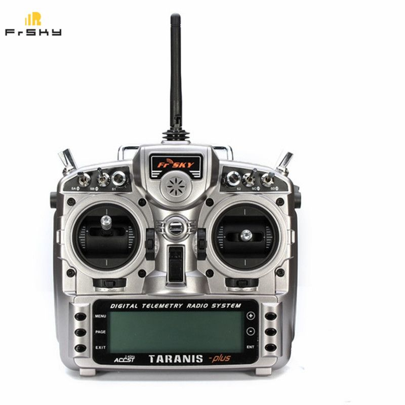 Hohe Qualität Original FrSky 2,4G 16CH ACCST Taranis X9D Plus Sender Karton Paket mit Batterie Für RC Modell