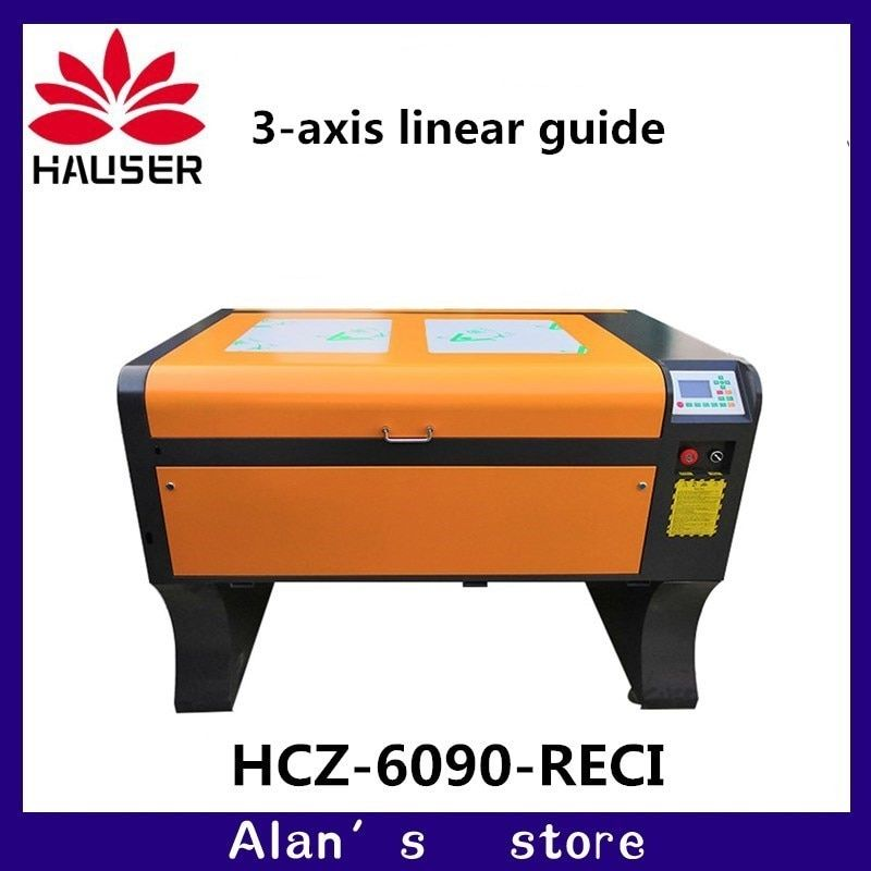 Verkäufe von hohe qualität 6090 CO2 laser cutter maschine CO2 laser gravur maschine Ruida 4060 DIY schneiden maschine kennzeichnung maschine