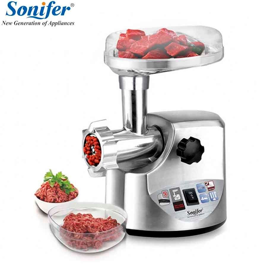 3000W high power stainless steel Home Electric Meat Grinder Sausage Stuffer Mincer Heavy Duty Household Mincer Sonifer