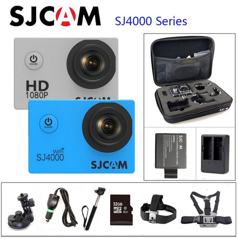 Оригинальный SJCAM SJ4000 серии SJ4000 и sj4000 WI-FI действие Камера 1080 P HD 2.0