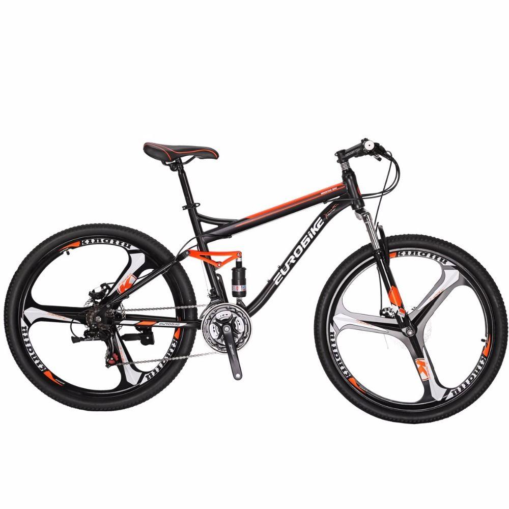 Mountainbike EUROBIKE S7 MTB 27,5 21 Gang-doppelscheibenbremse Fahrrad