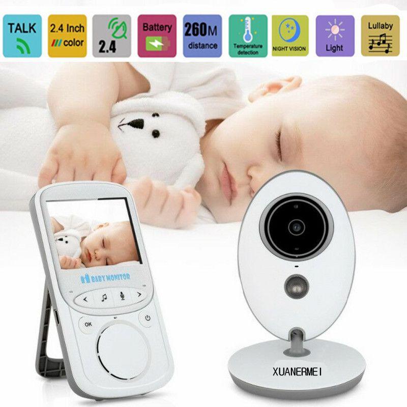 Xuanermei Drahtlose LCD Audio Video Baby Monitor VB605 Radio Kindermädchen Musik Intercom IR 24 h Tragbare Baby Kamera Baby Walkie Talkie