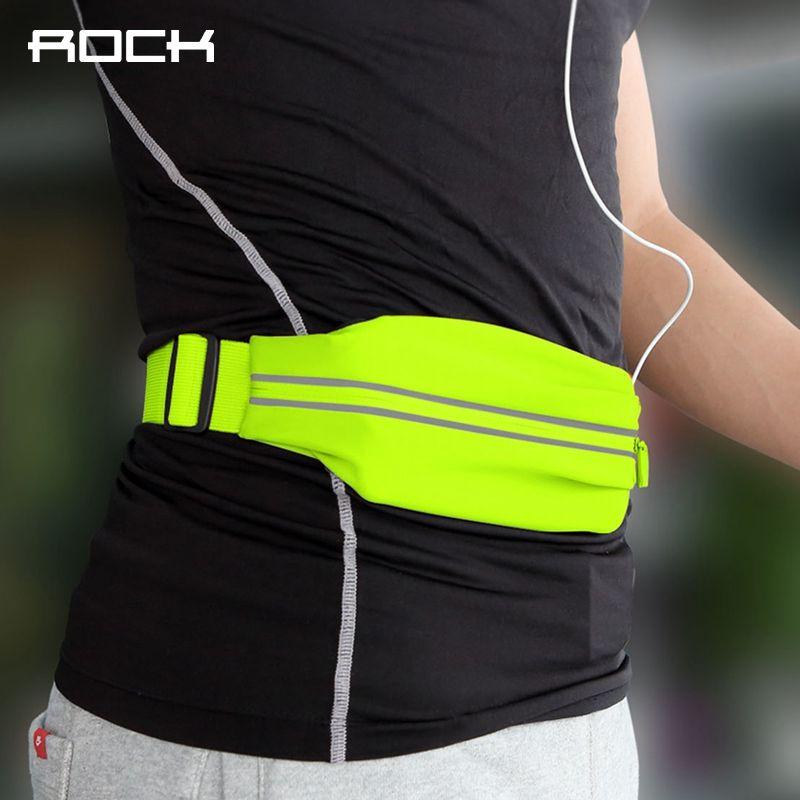 ROCHE Imperméable Sport Taille Sac pour running fitness vélo, universel Professionnel Mince Brassard pour 4-6 pouce appareils Téléphoniques