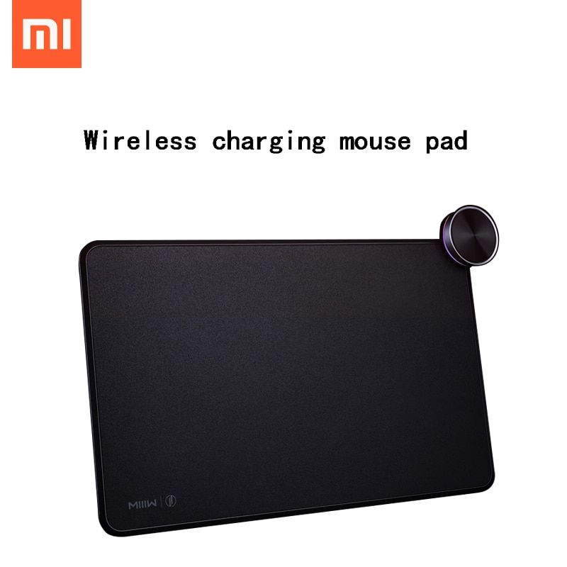 Miiiw Smart Mouse Pad Qi Wireless Charging Xiaomi Mix 2S Iphonex Fast Charge Gaming Mouse Pad Xiaomi Wireless Charger