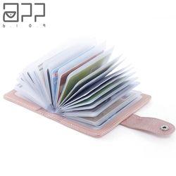 APP BLOG De 26 à 60 Carte Slots Femmes Hommes de Crédit d'affaires Banque Cartes Titulaire Couverture Du Passeport Carte Sac Femme Carteira Mujer