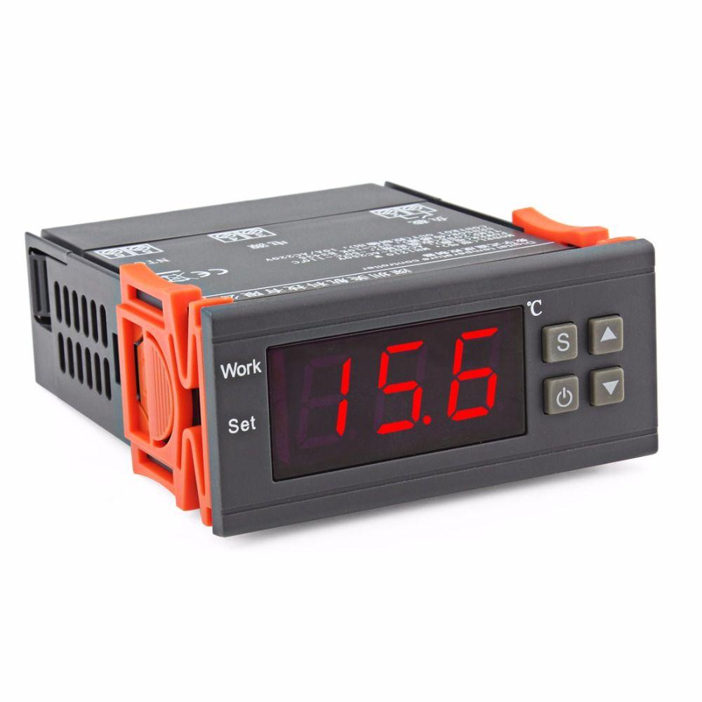 90 В ~ 250 В Резервуары для воды/холодильник/промышленное оборудование Температура контроллер с датчиком-50 ~ 110 по Цельсию градусов дисплей