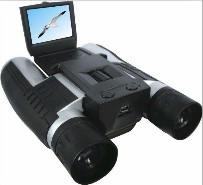 Professionnel 12x32 HD Binoculaire Télescope DH 1080 p Caméscope numérique 2.0 ''TFT CMOS 5MP télescope caméra vidéo FS608