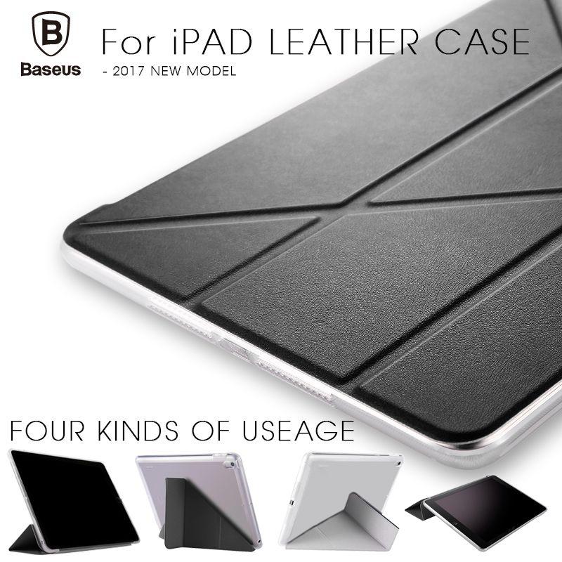 Кожаный чехол Baseus для iPad Pro 12.9 Магнитная откидная крышка Подставка для iPad Pro 2017 Авто Sleep & проснуться защитная оболочка кожи