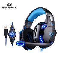 Vibración USB Gaming Headset 7,1 casque auriculares Gaming Headset Surround 7,1 auriculares con micrófono para ordenador PC Gamer