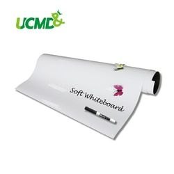 Magnetic Whiteboard Sheet Self-adhesive Dry Erase Whiteboard Hold Magnets 60 cm x 40 cm x 0.5 mm Wall Sticker