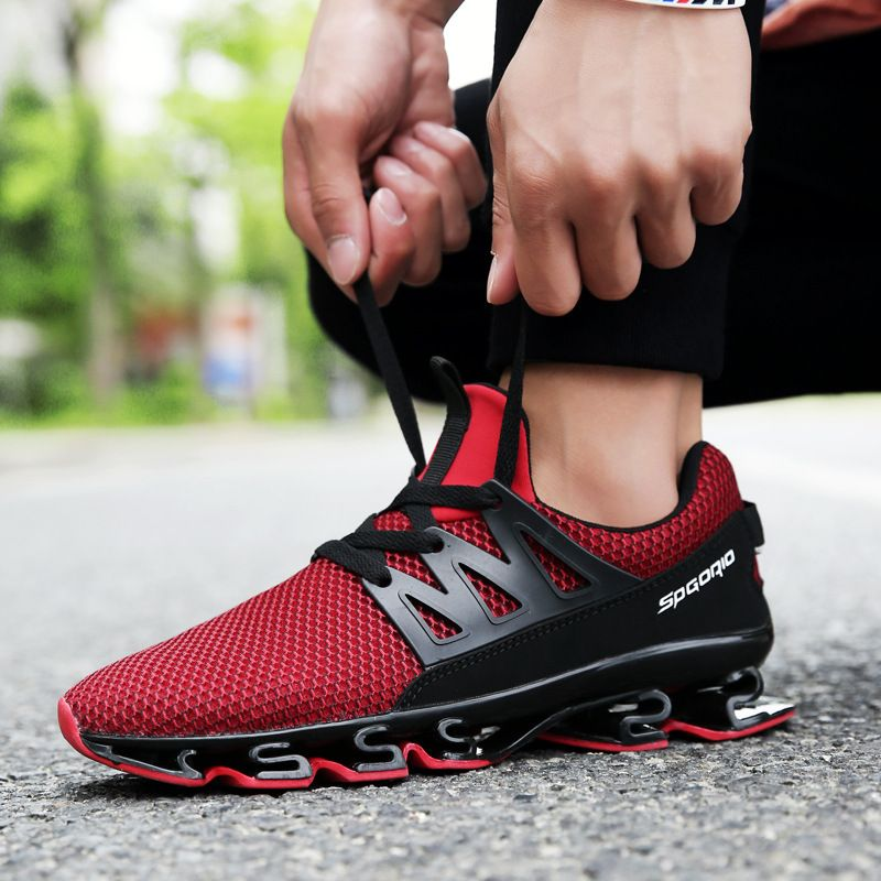 Summer Men Casual Shoes Breathable Mesh Fashion Soft Light Walking Sneakers Mens Trainers Male Shoe